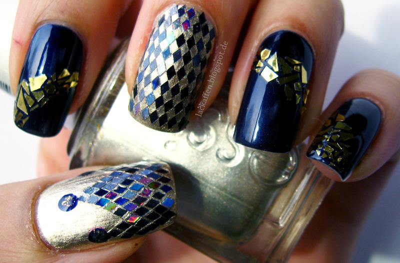 Essie - Taste of Luxury nail art nail art by Tartelette - Nailpolis ...