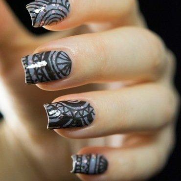 Circle pattern nail art3 thumb370f