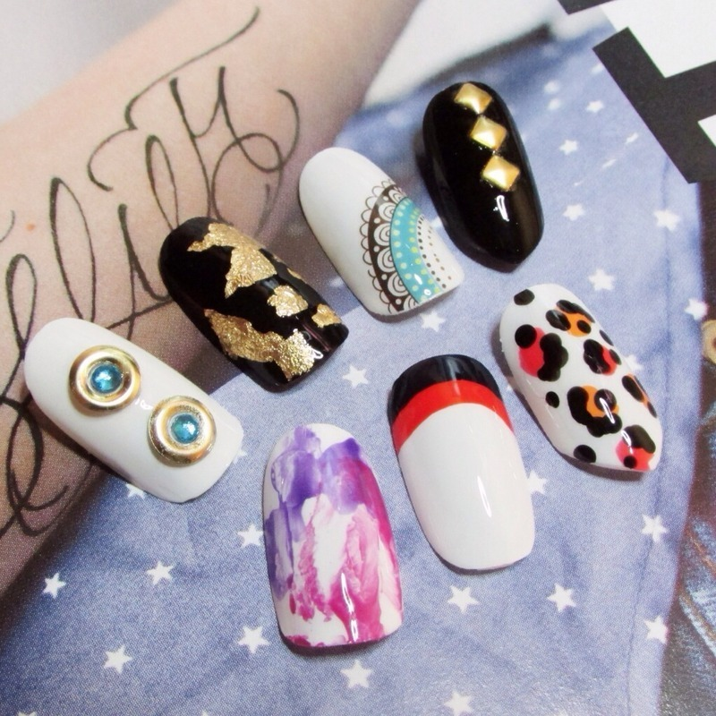 Some tips nail art by Nails Ink