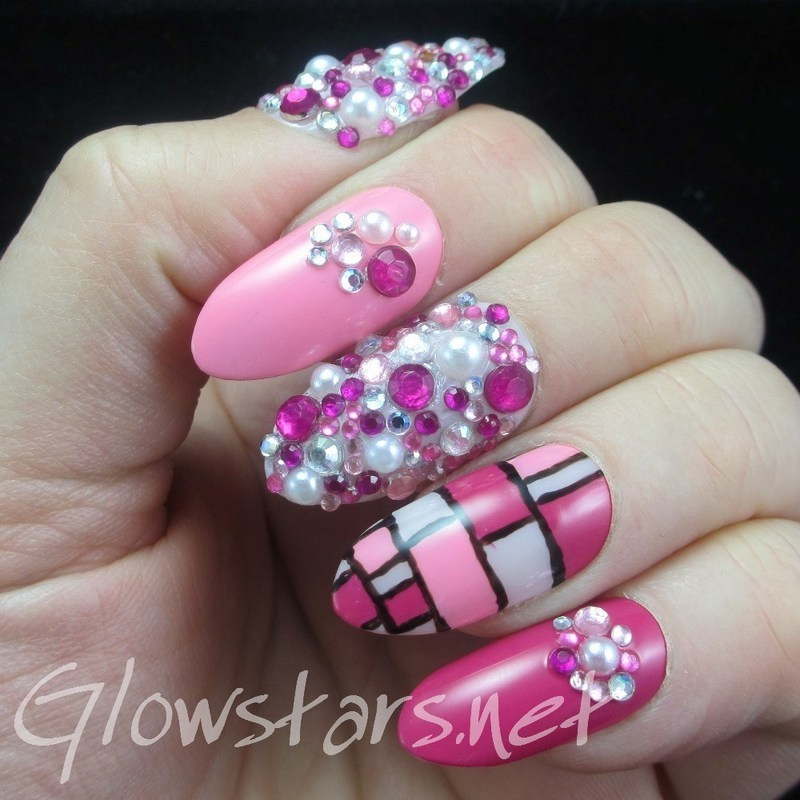 I wanted to believe that I'd get caught up nail art by Vic 'Glowstars' Pires