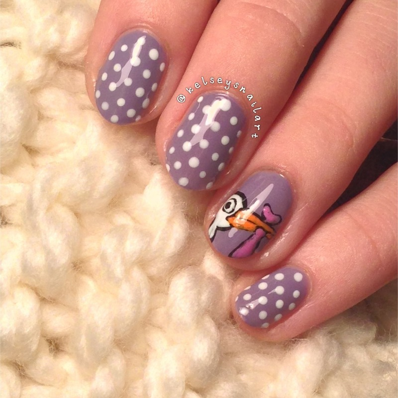 Baby Shower Nails nail art by Kelsey