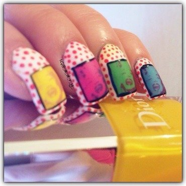 ✨popart✨ nail art by Adriana