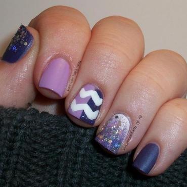 A Skittles Mani for Essie nail art by Dani