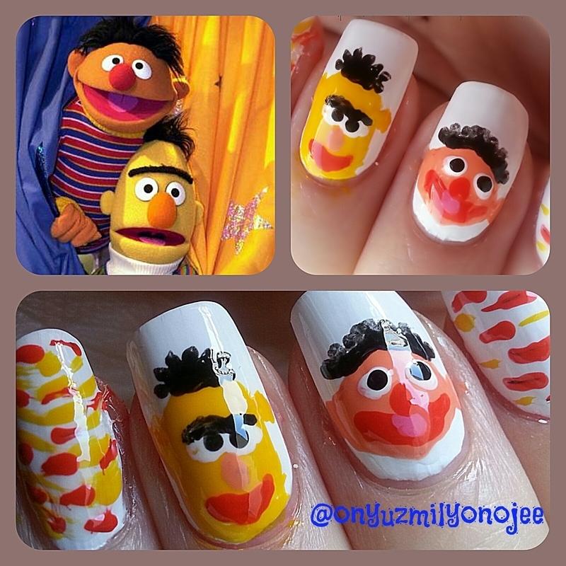 Edi&Budu nail art by onyuzmilyonoje