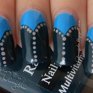 Arabian style nail art by bydanijela