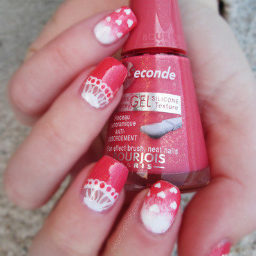 Valentine's Day Nail Art nail art by Restons polish