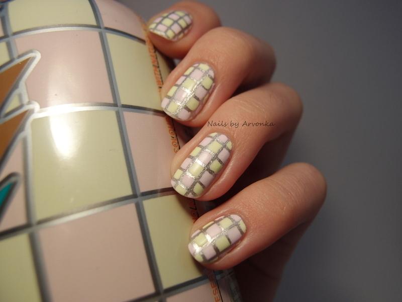 Arizona Iced Tea Nails nail art by Veronika Sovcikova
