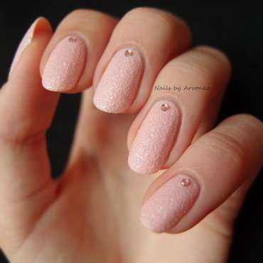 Princess nail art by Veronika Sovcikova