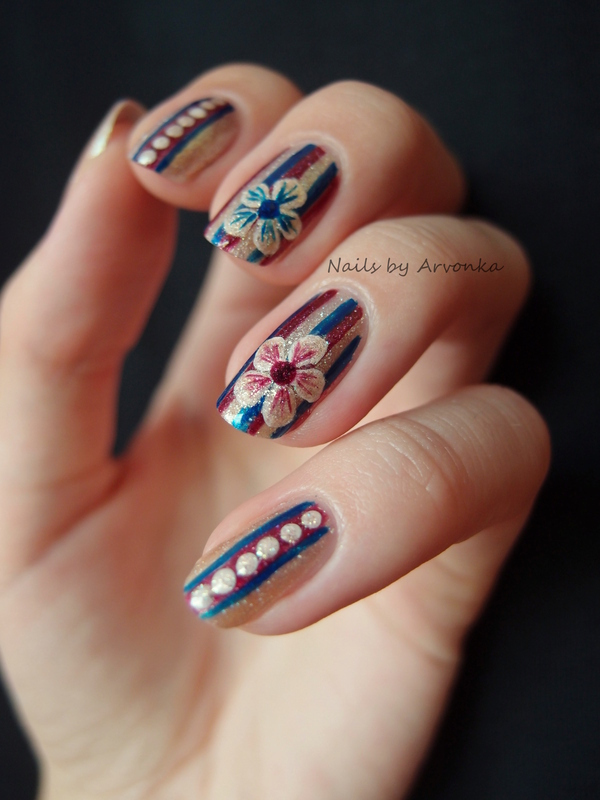 piCture pOlish Blog Fest 2013 nail art by Veronika Sovcikova