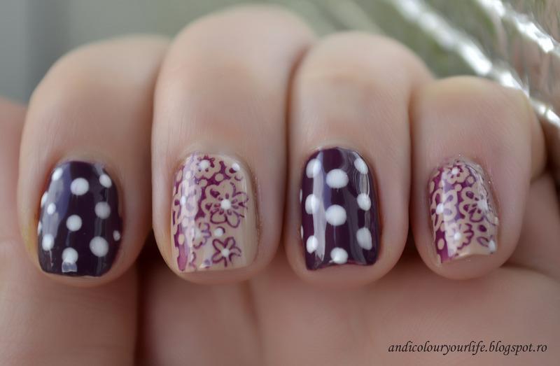 Happy dots nail art by Andrea  Manases