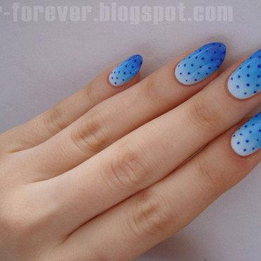 Niebieski gradient   granatowe groszki2 thumb370f