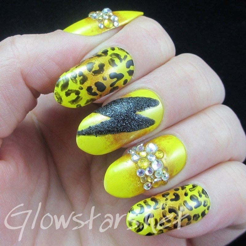 You wanted more than I was worth nail art by Vic 'Glowstars' Pires