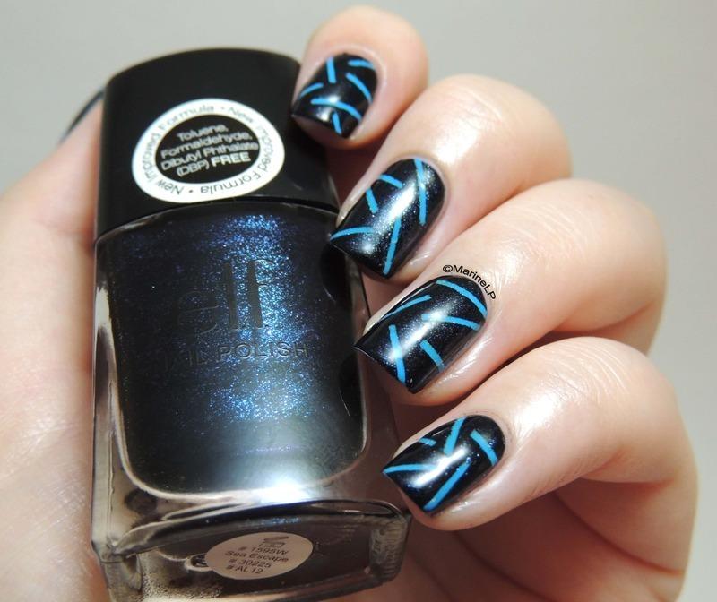 Laser nail art by Marine Loves Polish
