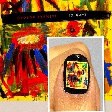 17 Days. nail art by Karen