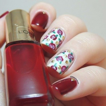 Do you want to be my Valentine ? nail art by Marine Loves Polish