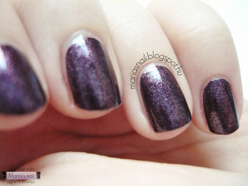 China Glaze - Rendezvous With You nail art by Maria