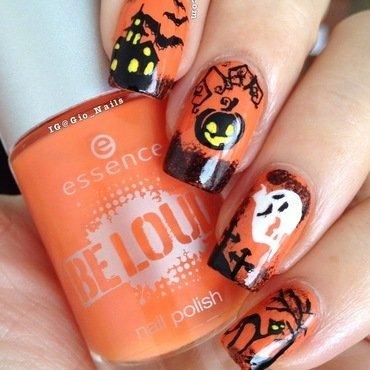 Happy Halloween 2013 nail art by Giovanna - GioNails