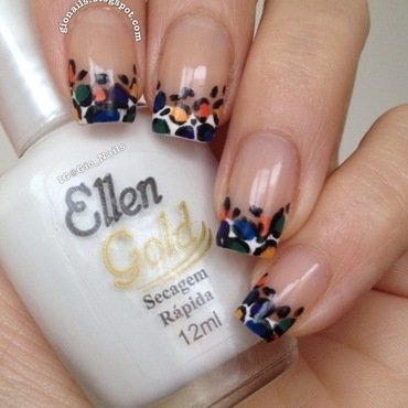 French Animal nail art by Giovanna - GioNails