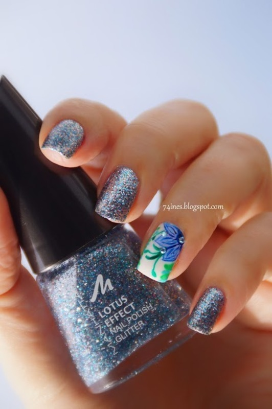 Wrapped in splendor nail art by 74ines