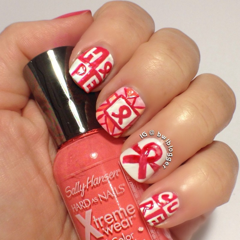 Cute and Curable nail art by Ashley