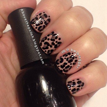 Roar!!!! nail art by Ashley