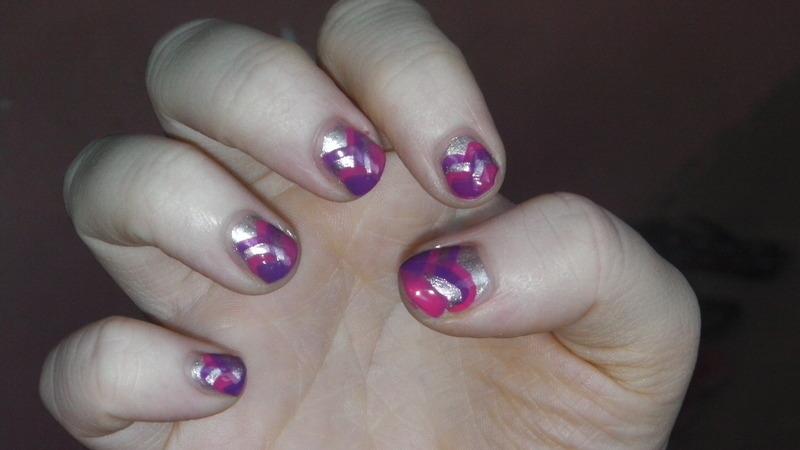 Fish Braid Tail nail art by Nailz4fun