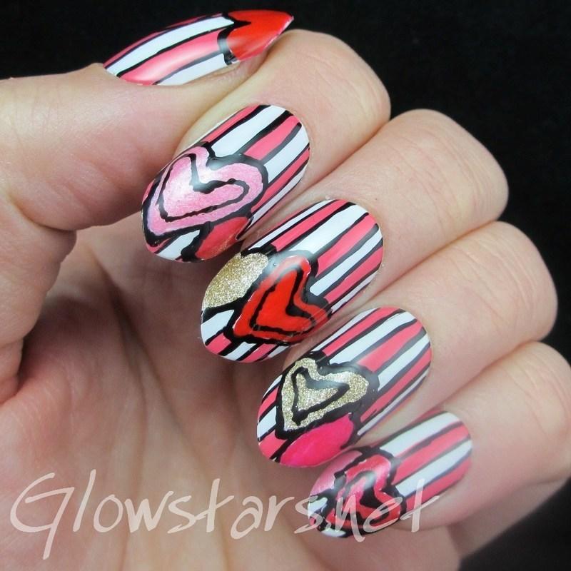 Sunday Spam: Nails Supreme Nail Art Pens* nail art by Vic 'Glowstars' Pires