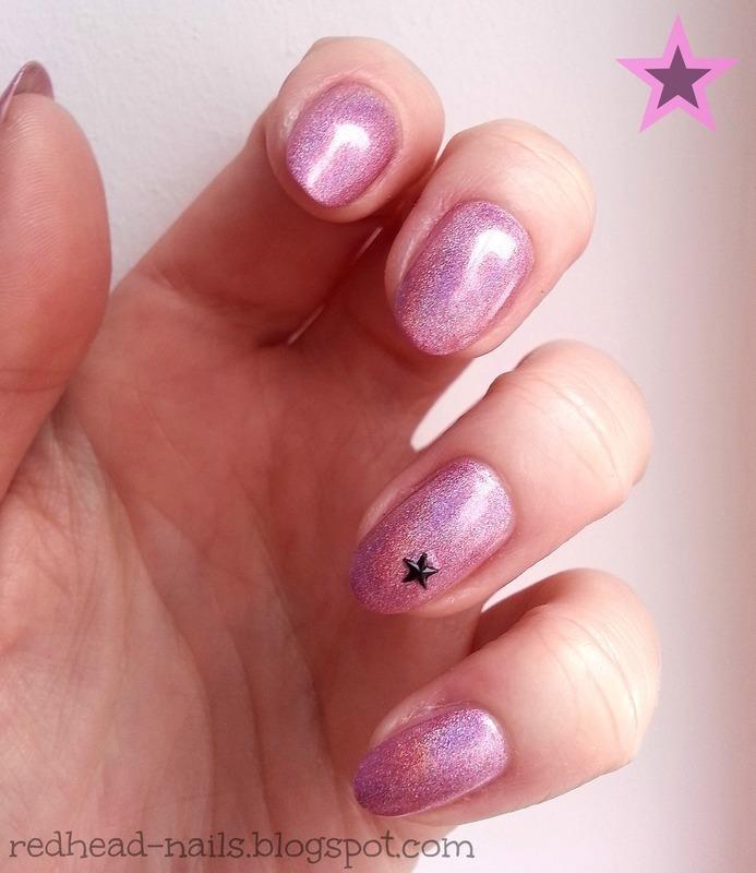 Ultimate holo nail art by Redhead Nails