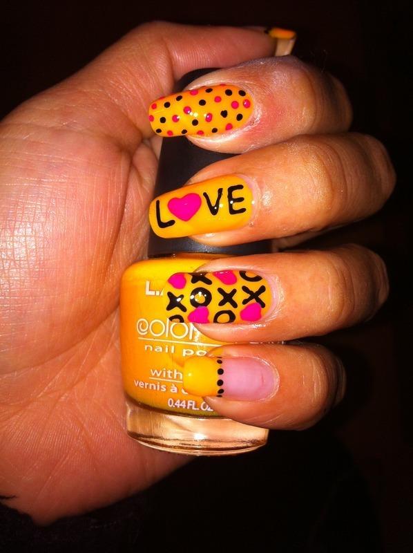 XoXo Nails nail art by Nancy