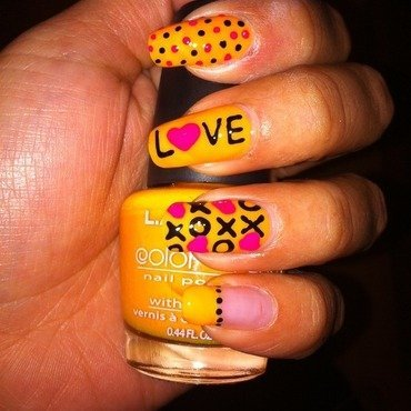 XoXo Nails nail art by Nancy