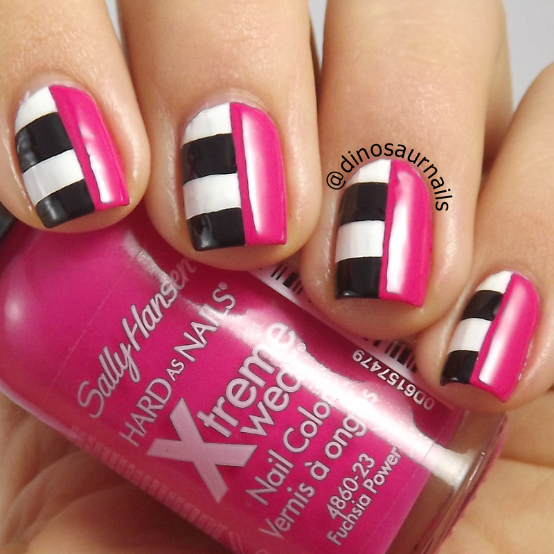 Inspired By Fashion nail art by  Vanesa