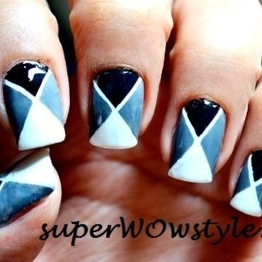 Easy Nail Art nail art by superWOWstyle