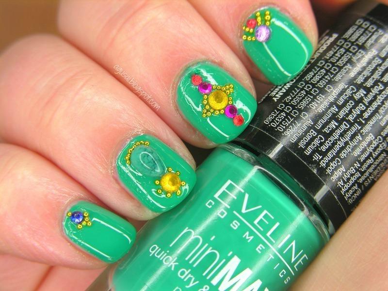 Bollywood dream nail art by Agni