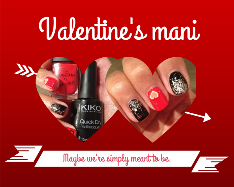 Valentine's mani nail art by PumpUrNails by Chrisblackpink
