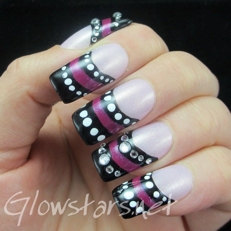 You and I go hard at each other like we're going to war nail art by Vic 'Glowstars' Pires