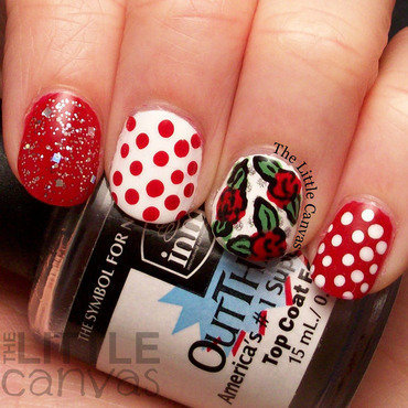 Red dot rose mani 4 thumb370f