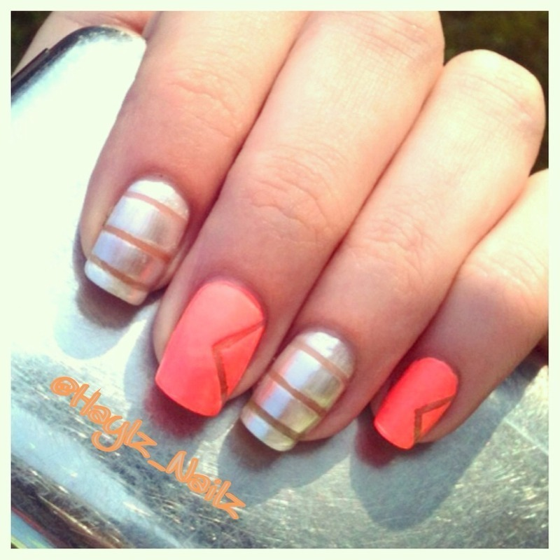 Summer nail art by Hayley