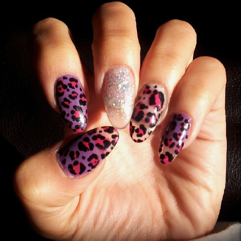 Party Rock nail art by Pris  Killah