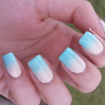 An Ombre Mix for your Date :) nail art by Priscilla  Lim