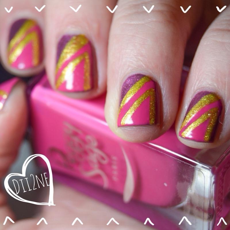 Piiiink <3 nail art by Dii2ne