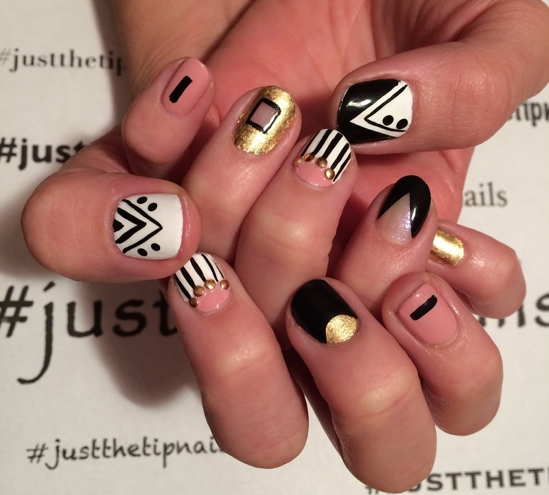 Mix n Match nail art by Rosanne  Sollecito