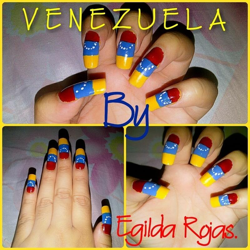 Nail art Venezuela  nail art by Egilda Rojas