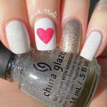 Love and Fairy Dust nail art by Ann-Kristin