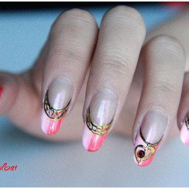 Valentine nail art by LÊ Hélène