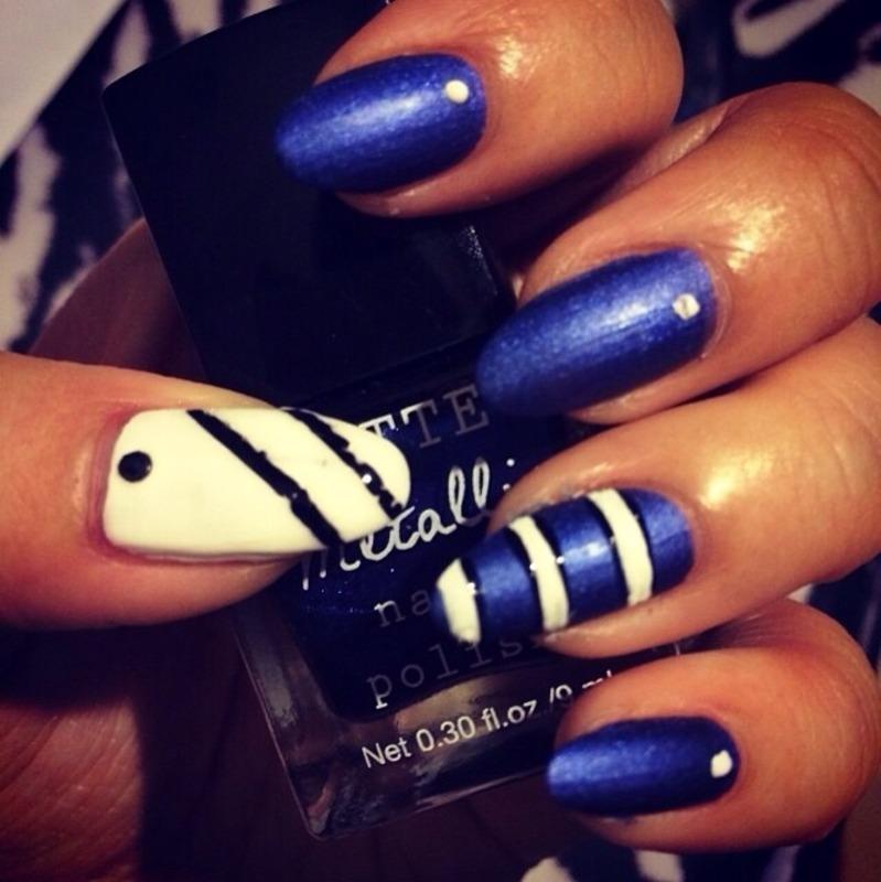 Keep it sleek nail art by Jeannie_Thai