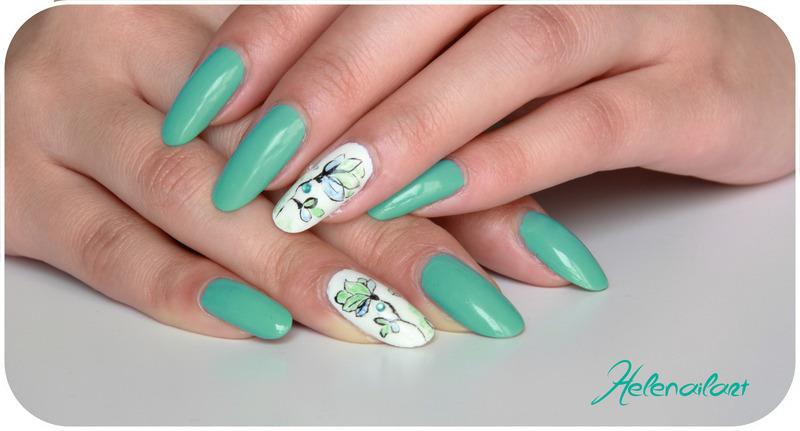 Pause smooth nail art by LÊ Hélène