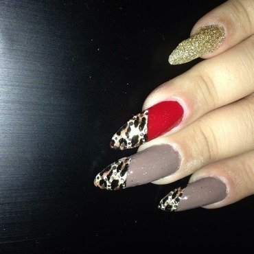 Animal kingdom claws nail art by Maryam