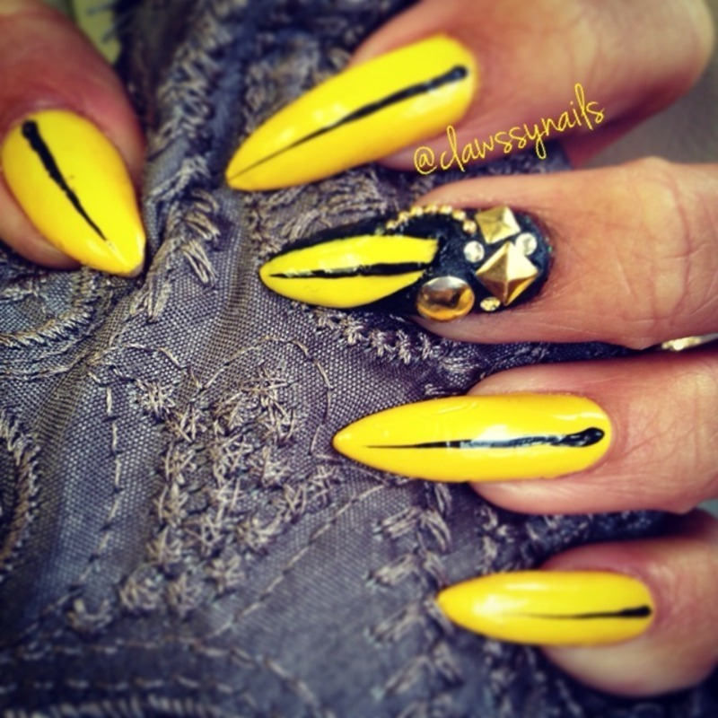 All Cat's Eyes On Me nail art by Jessica de Leon