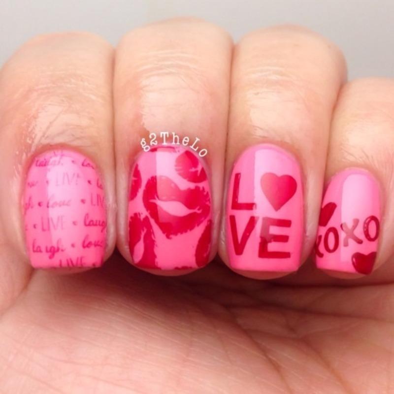 Love it nail art by Gloria  Loeza