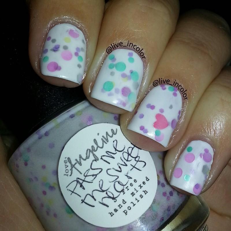 valentines nail art by kEElyN mARiN